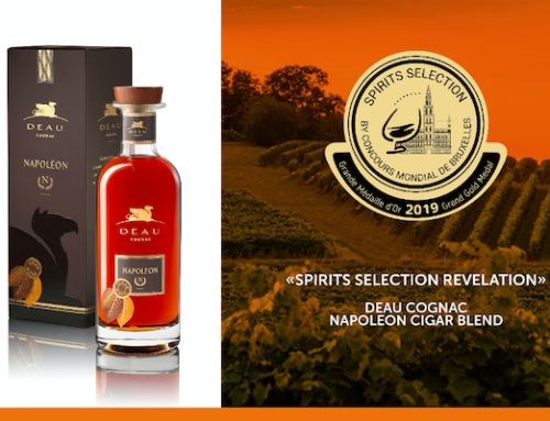 Une grande médaille d'or et révélation pour le cognac DEAU Napoléon Cigar Blend